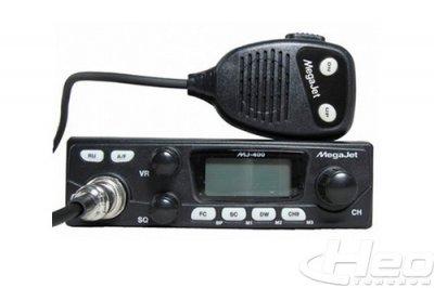 Рация Megajet MJ-400 TURBO автомобильная, радиостанция для дальнобойщиков, купить в Ижевске